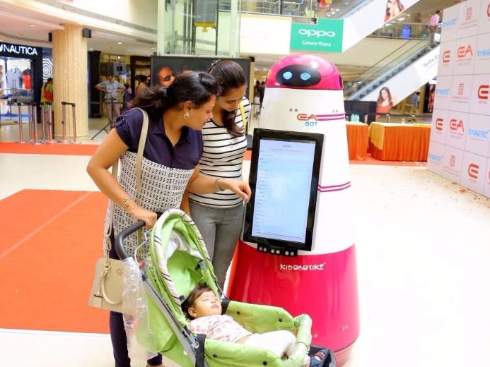 Mall Assistant Robot - Hackster io