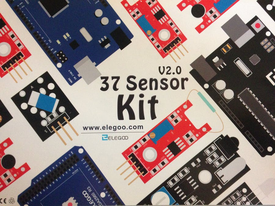 First Test: 37 Sensor Kit v2.0 from Elegoo - 7/37