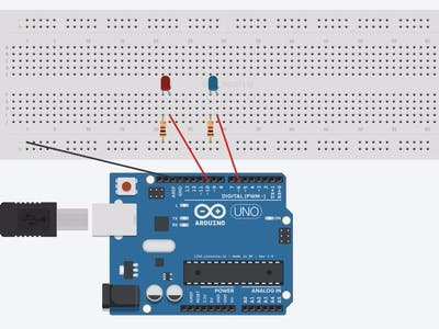 Control LED/Relay Using Arduino 101