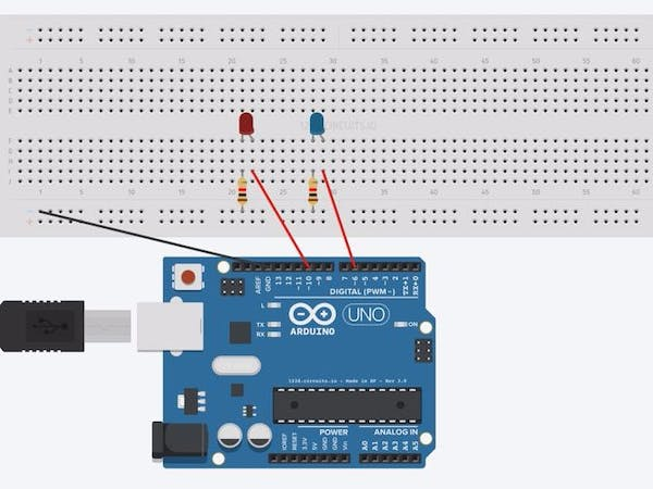 Control led relay using arduino project hub