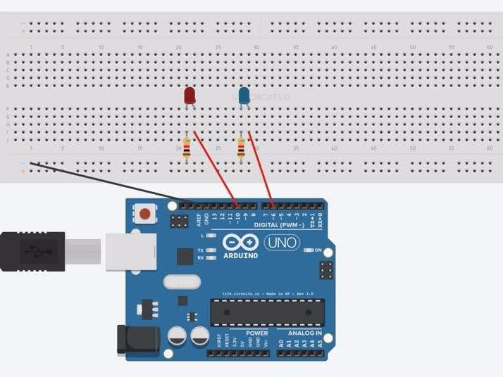 Control LED/Relay Using Arduino 101