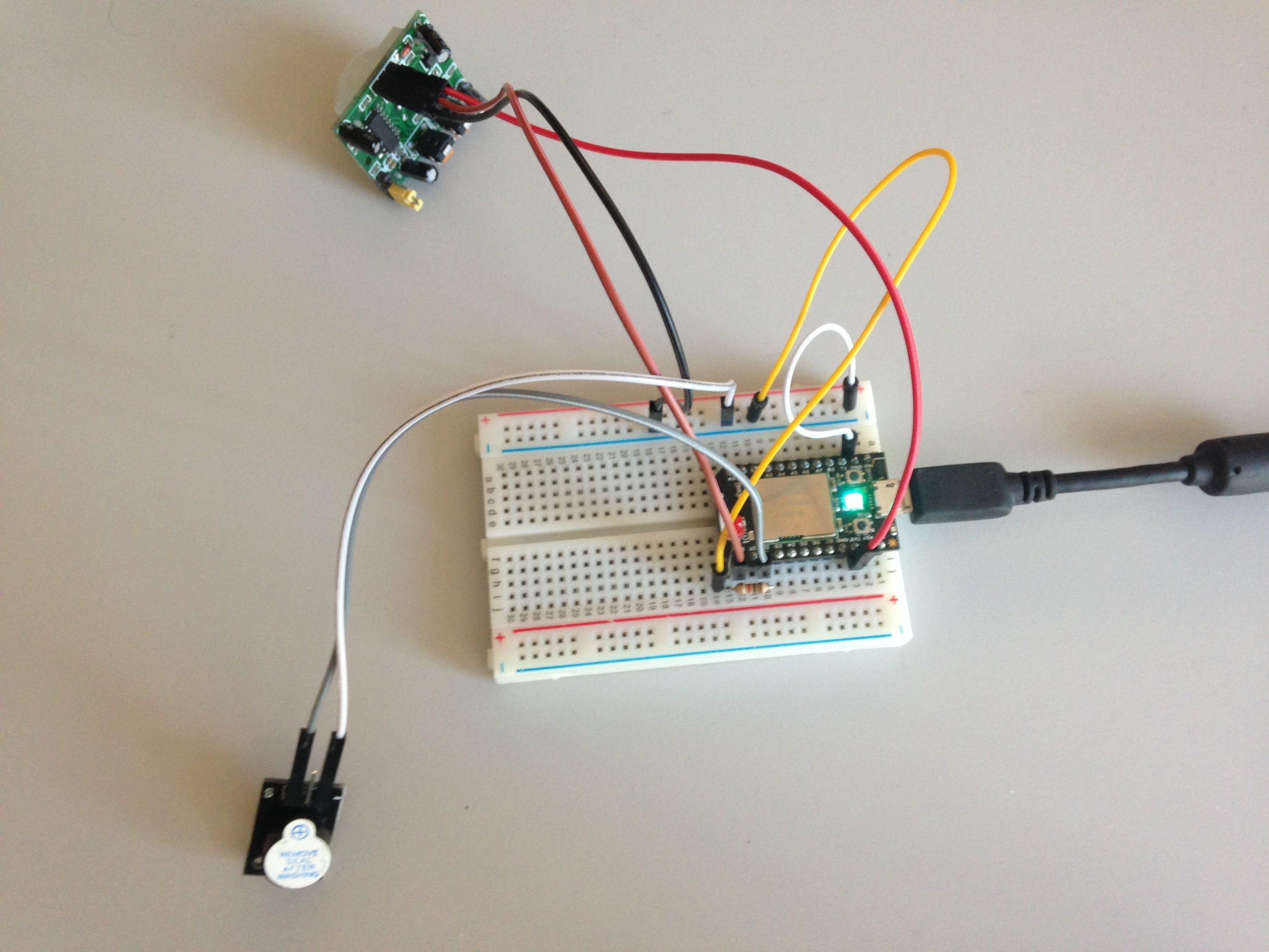 MyPIR-Sensor Informs Me Via IFTTT