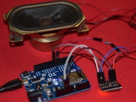 IOT - Arduino ESP8266 Internet Controlled MP3 Player