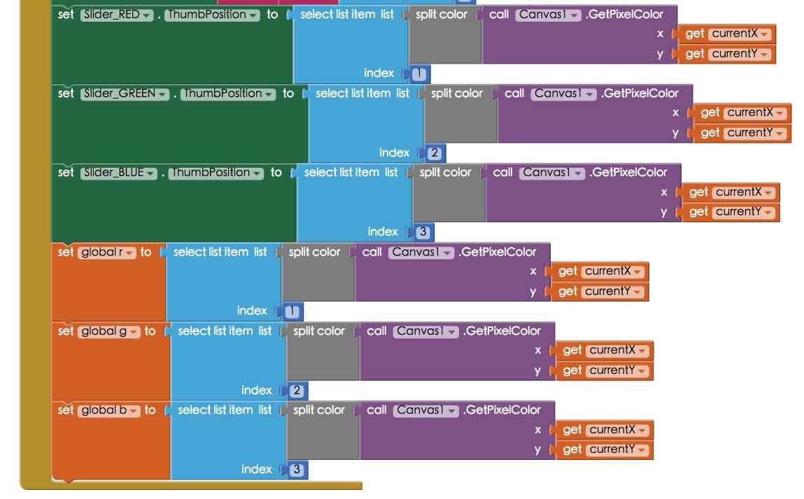 Control RGB LED by Dragging – Arduino 101 & App Inventor