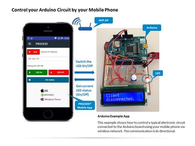 How To Control Arduino From Mobile Phone