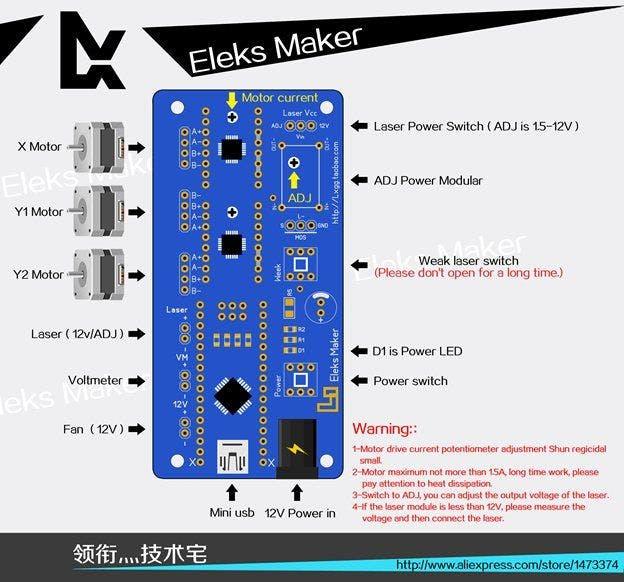 Benbox With Eleks Laser Engraver  Gearbest   Banggood