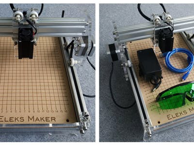 Benbox With Eleks Laser Engraver (GearBest /Banggood)