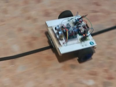 LineFollower or LineTracking Rover with PID on Arduino UNO