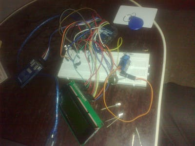 Security System And Access Control With Arduino And RFID