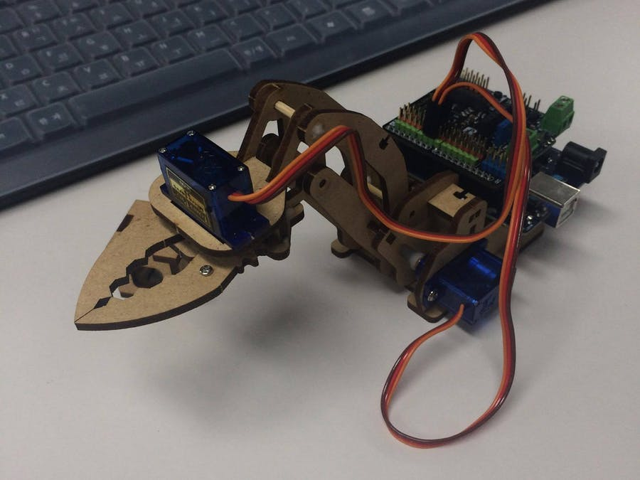robot arm(arduino 101) TEAM√3