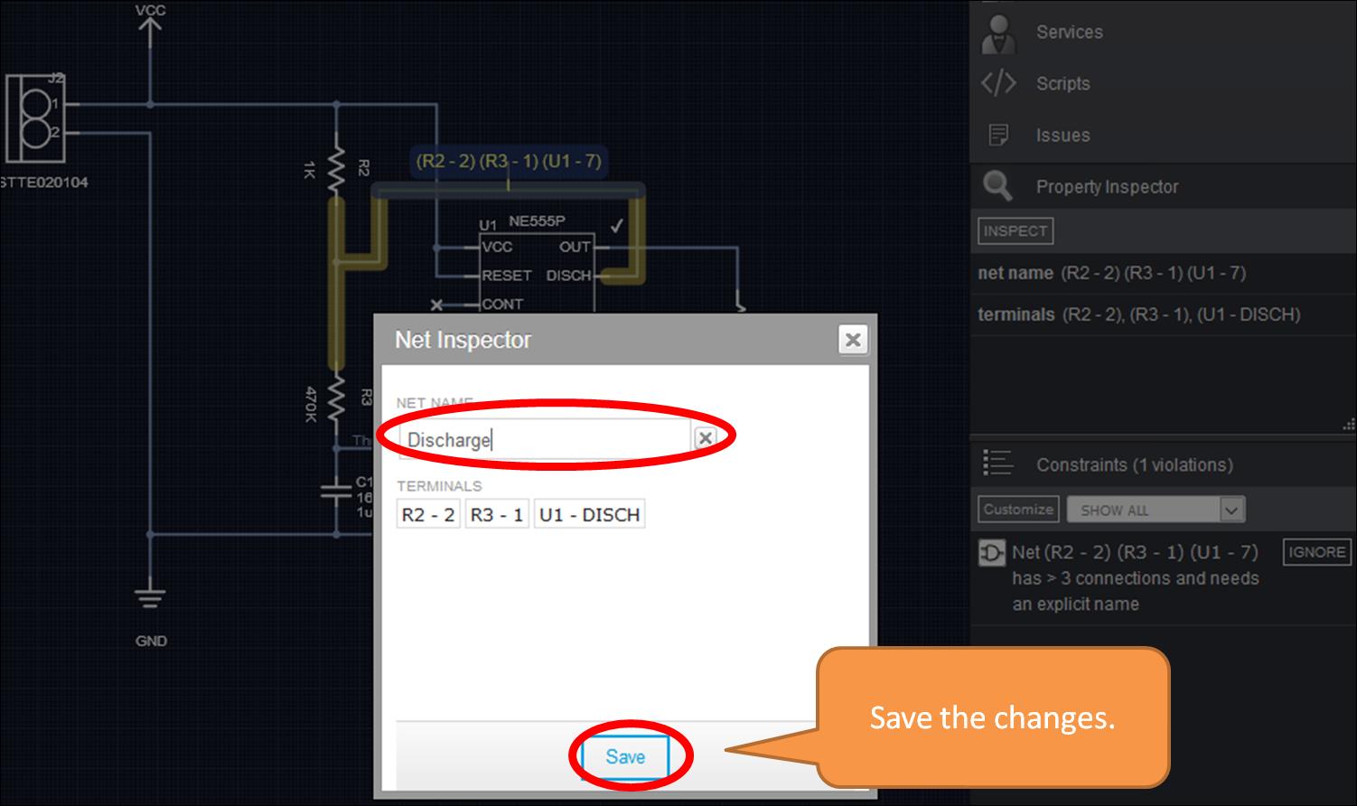 Upverter A Web App To Create Electronic Circuit Diagrams Schematics