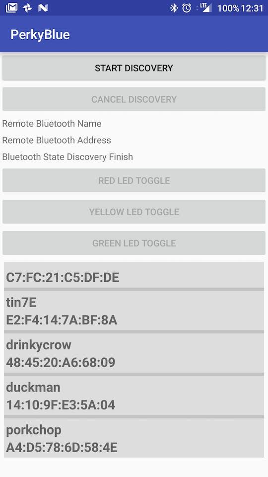 Android/BeagleBone Interaction Via Bluetooth RFCOMM