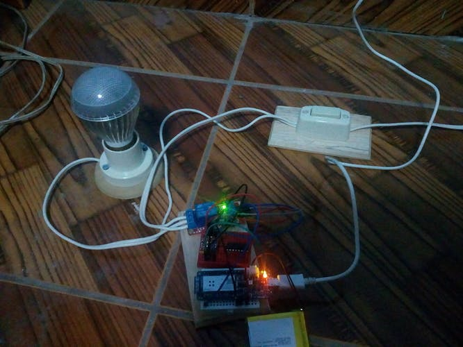 Relay Controlled by Arduino