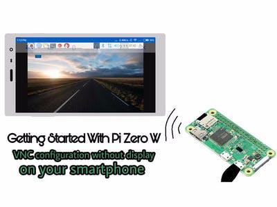 VNC Configuration Without Display On Pi Zero W