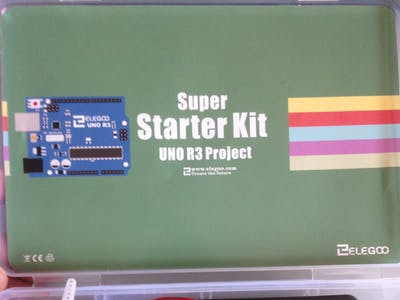 First Test: Super StarterKit from Elegoo - Infrared
