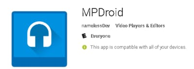 MPDroid - Android MPD player