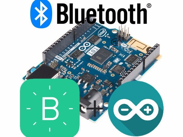 Arduino101 Bluetooth Interfacing