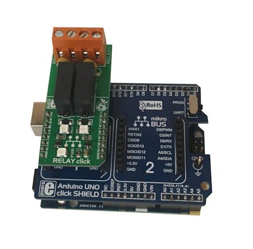 Arduino101 Click Shield and Click Board