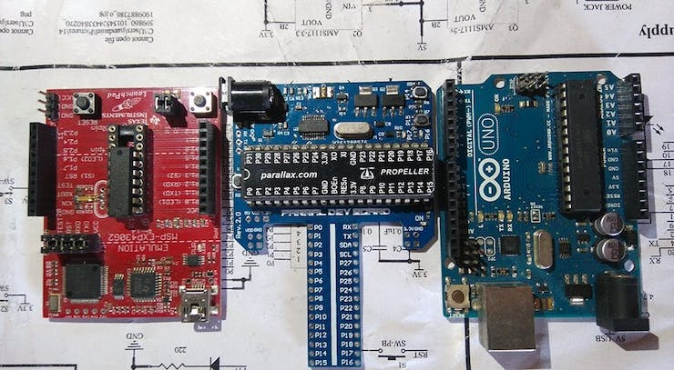 Parral dev boars vs Arduino vs Launchpad
