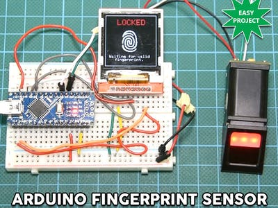 Arduino Fingerprint Sensor Tutorial