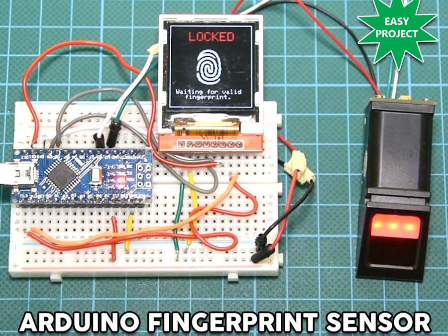Arduino Fingerprint Sensor Tutorial - Hackster io