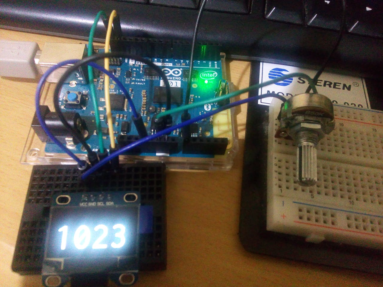 Oled Display with Arduino 101 - Hackster io
