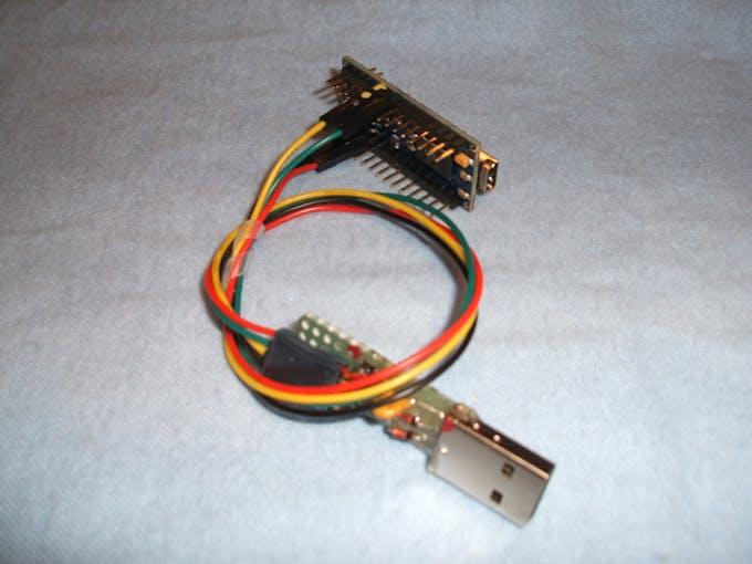 Rpi data logging using usb hid hackster