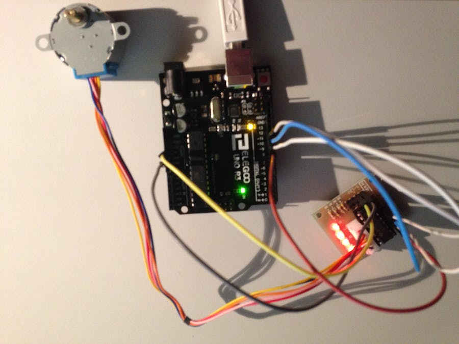 First Test: Super StarterKit from Elegoo - Stepper Motor 5V