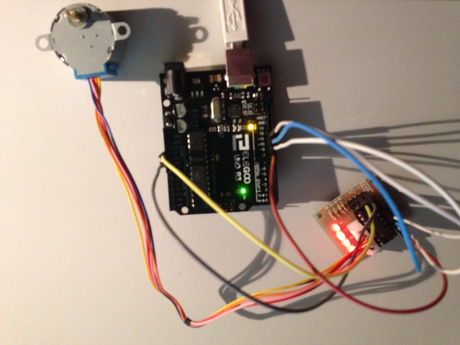 First Test: Super StarterKit from Elegoo - Stepper Motor 5V