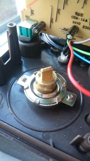 Tuner button