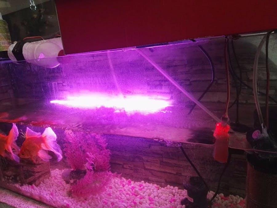 Aquarium Controlling and Monitoring Using Arduino + 1Sheeld