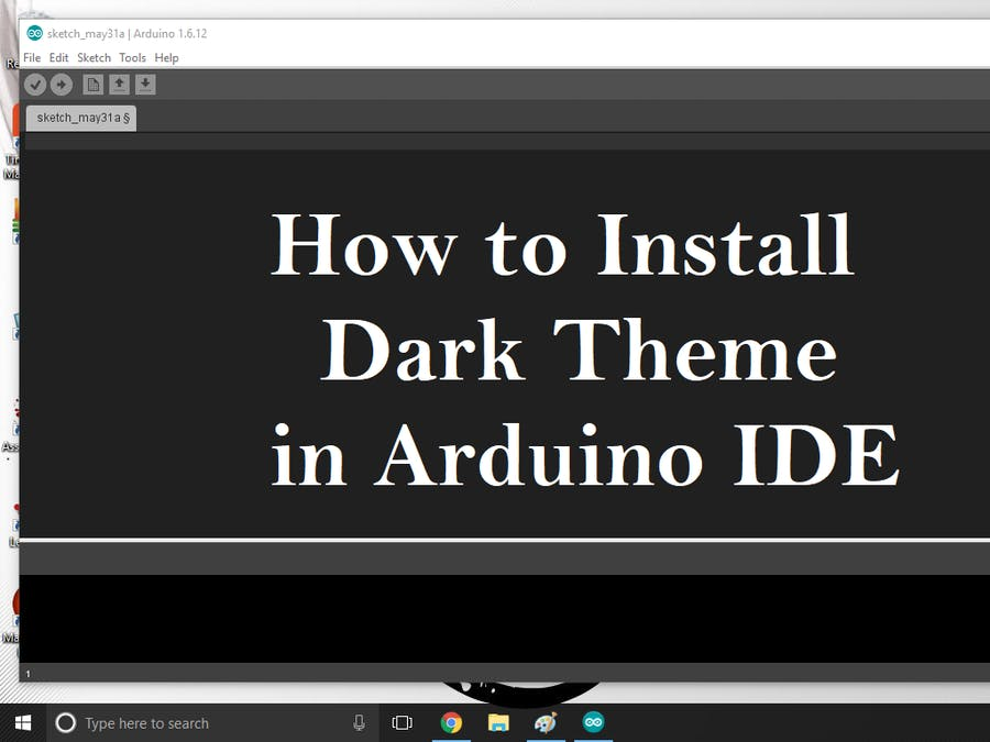 How to Install Dark Theme for Arduino IDE - Hackster io