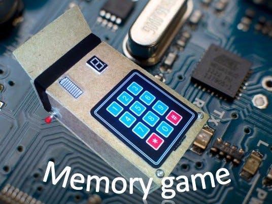 Arduino memory game hackster
