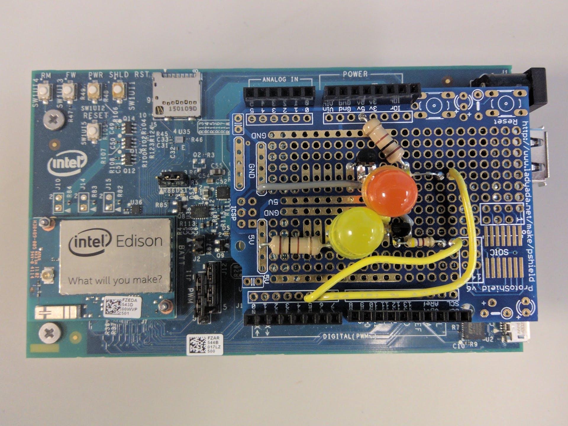 Prototype using a developer kit