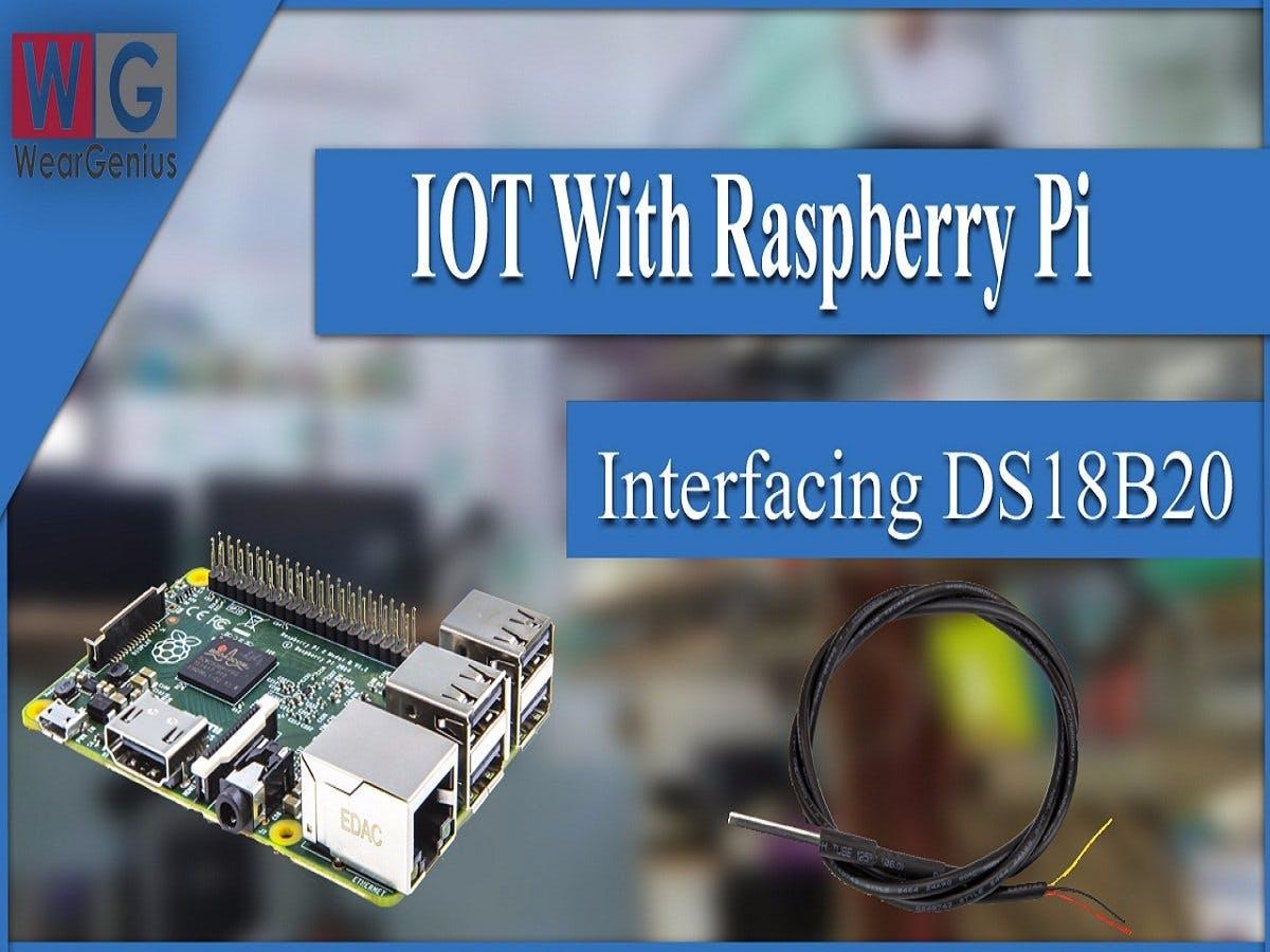 DS18B20 Sensor Interfacing with Raspberry Pi using JAVA