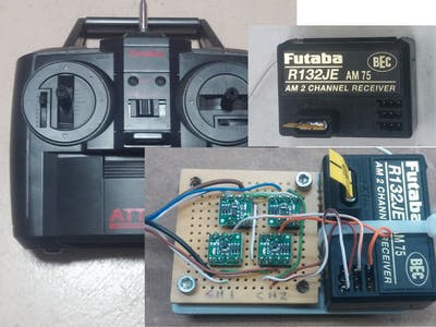 RC Control for Raspberry Pi