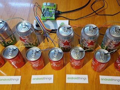 Android Things Capacitive Touch Piano