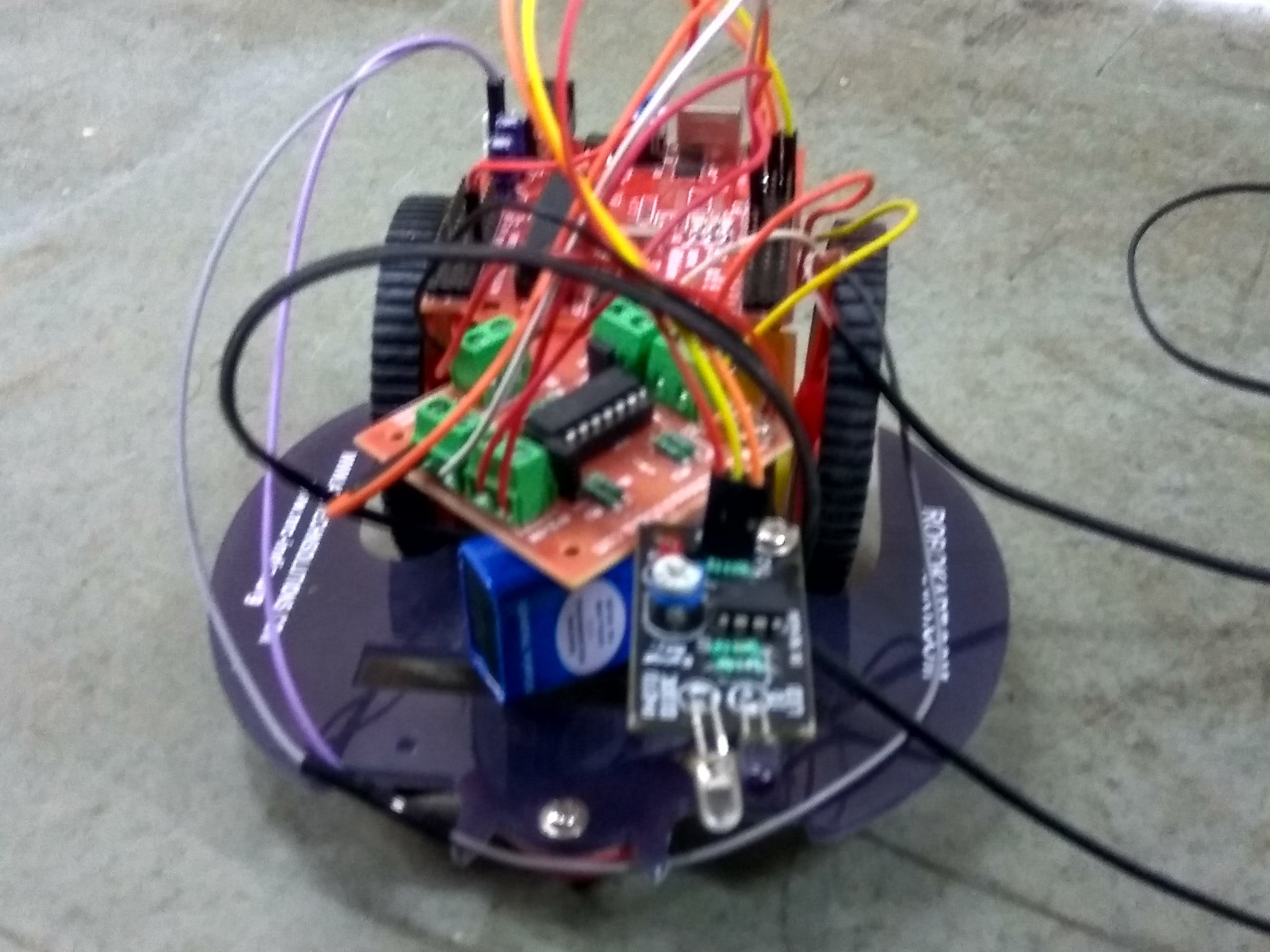 Obstacle detection Robot