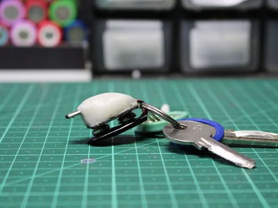 Emergency Keyring Phone Charger