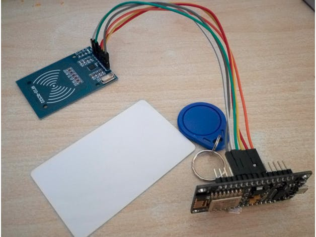 Wireless Attendance System Using NodeMCU with MySQL
