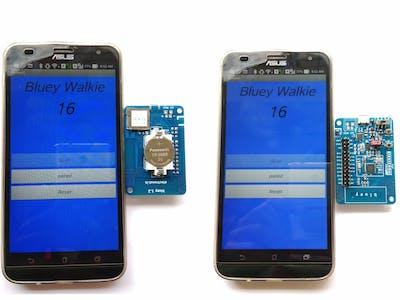 Bluey-Walkie - An nRF52 BLE Pedometer