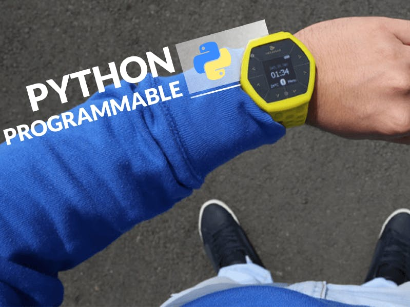 Programming Hexiwear (Wearables + IoT) in Python