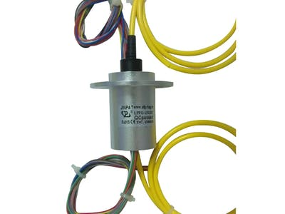 RF Slip Ring Electrical Rotary Joint