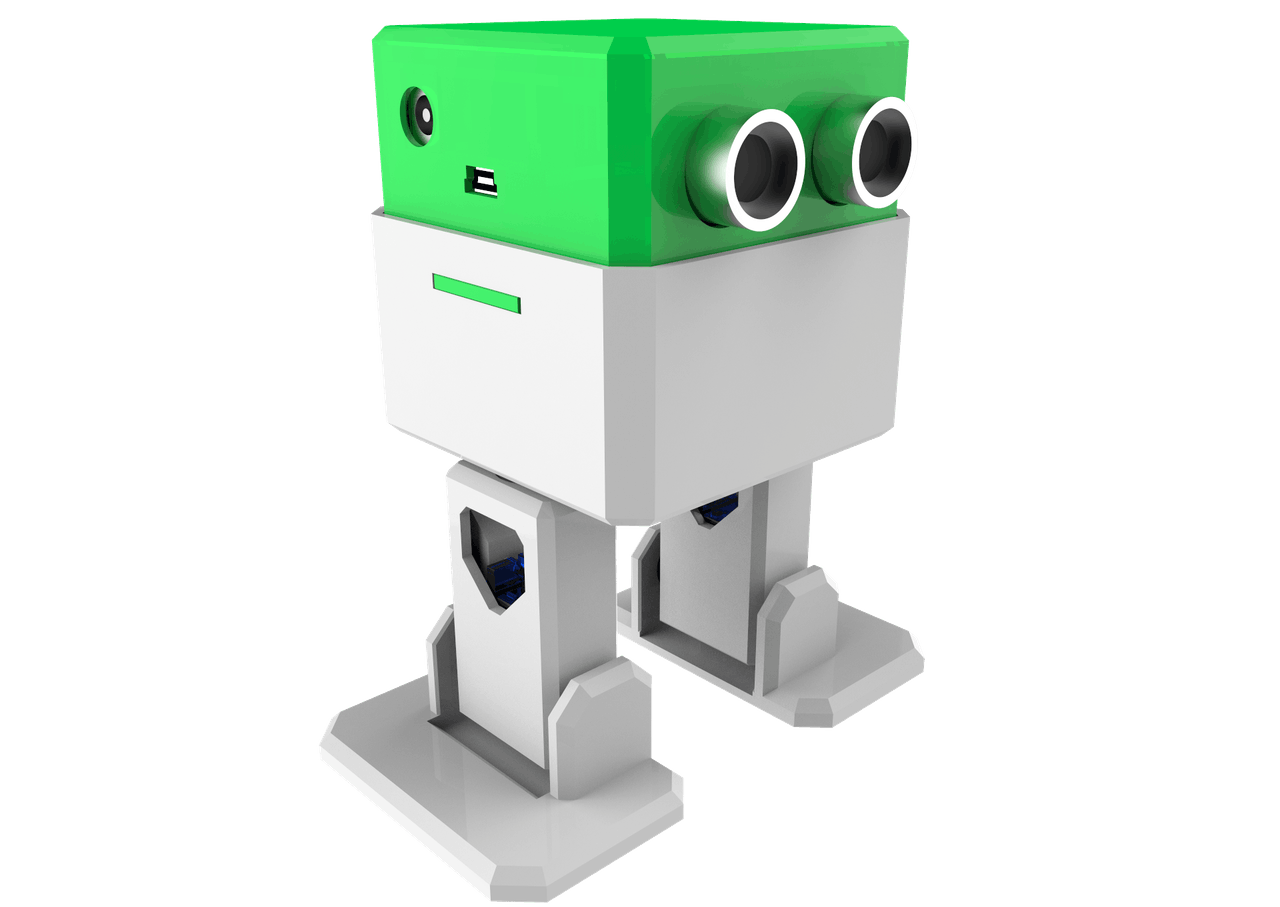 Ottodiy Build Your Own Robot In One Hour Obstacle Avoiding 8211 Tiny Bot Project