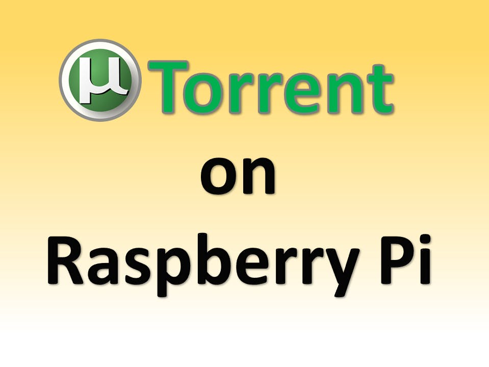 Run uTorrent on Raspberry Pi and any ARM device