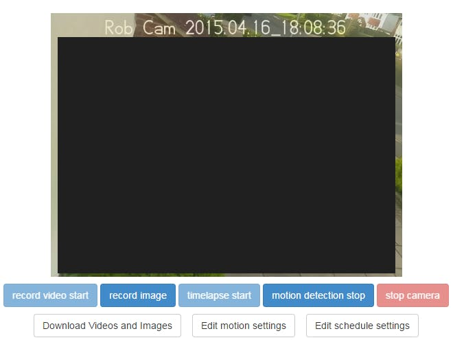 Web Accessible Security Camera Using Raspberry Pi