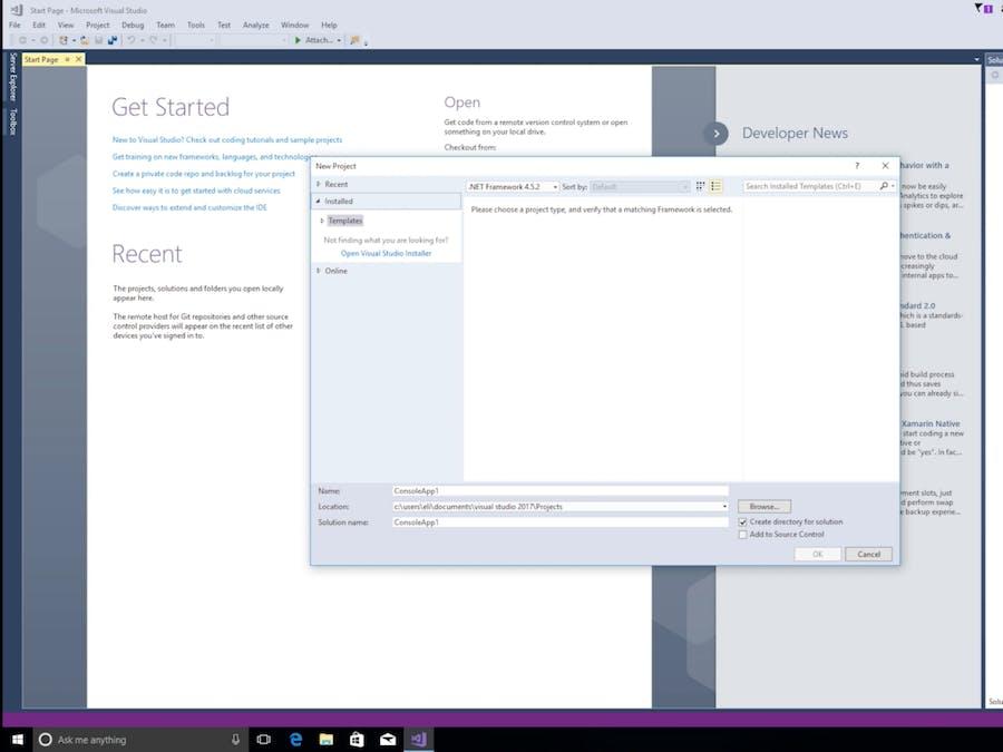 Microsoft Workshop Setup Guide