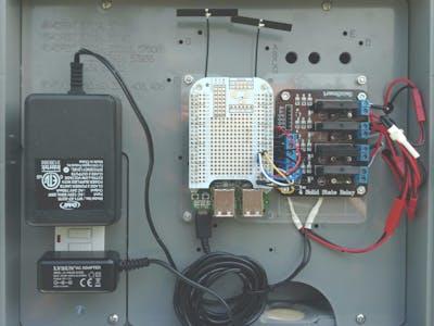 BeagleBone Green Wireless Irrigation Control