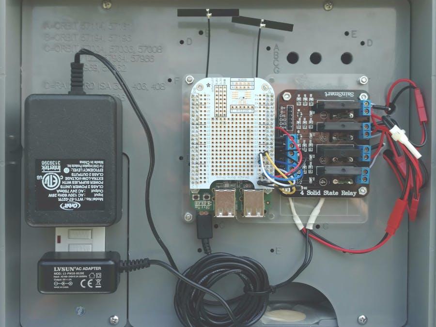 BeagleBone Green Wireless Irrigation Control - BeagleBoard Projects