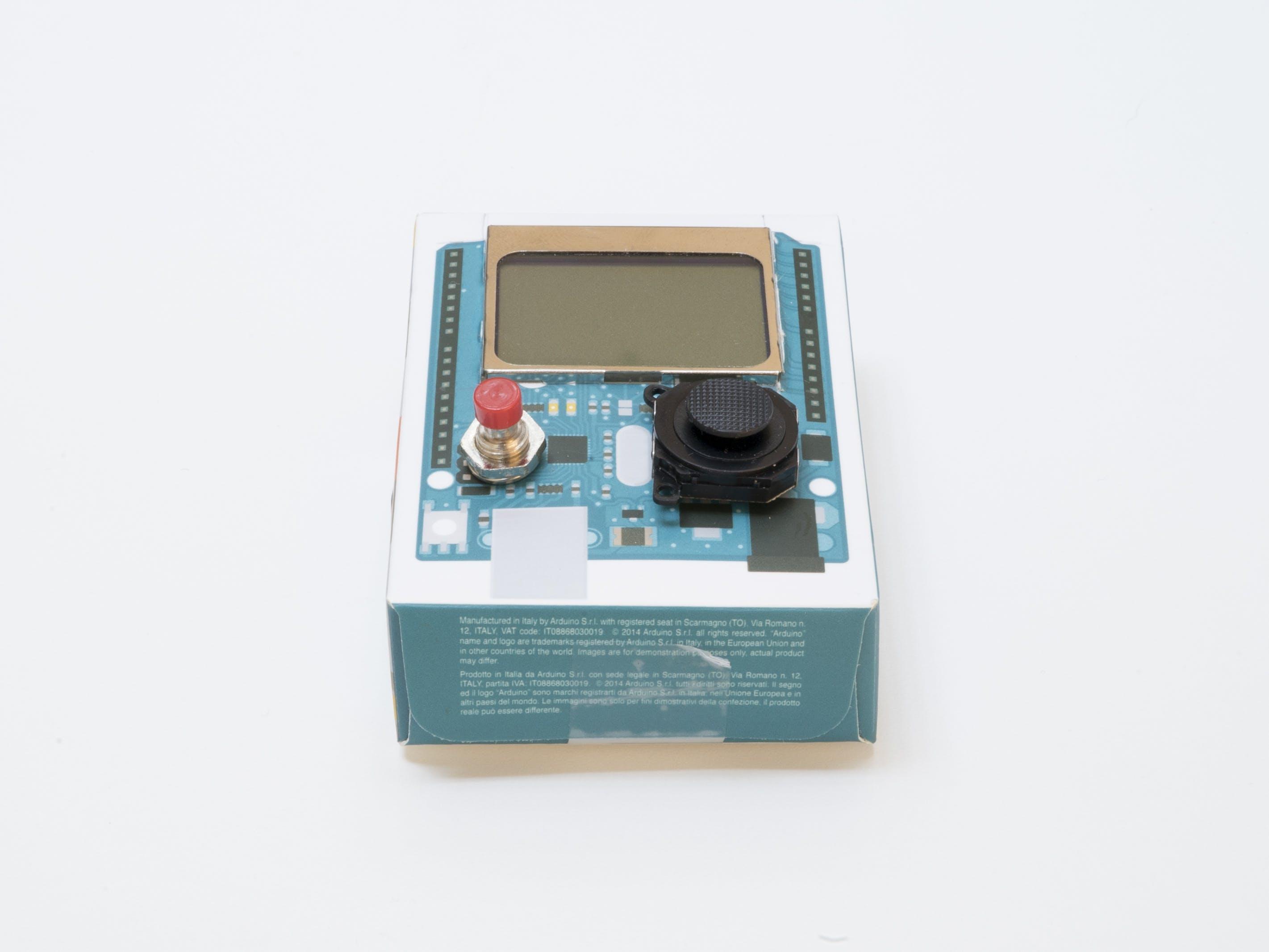 Snake in an Arduino Box